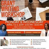 2 Night Grant Writing Workshop