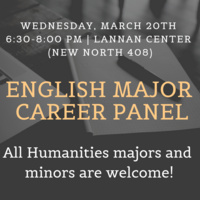 English Major Career Panel
