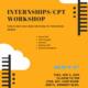 Summer Internships/CTP Workshop for F-1 International Students
