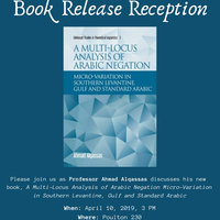 Book Launch Reception: Professor Ahmad Alqassas