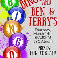 Bingo & Ben and Jerry's