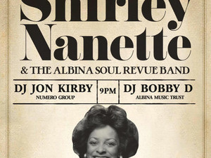 Shirley Nanette & The Albina Soul Revue Band: Never Coming Back