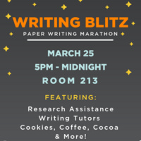 Writing Blitz