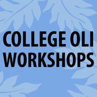 College Oli Workshop