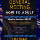 General Meeting: How to Adult