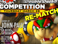 Mario Kart Competition Re-Match! Win 50! $4 Beers & Drinks!
