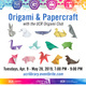 Origami & Papercraft with the Origami Club