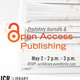 Predatory Journals and Open Access Publishing