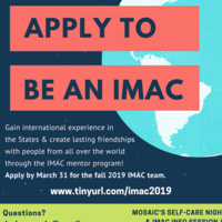 Mosaic's Self-Care Night & IMAC Info Session