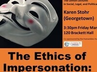 """The Ethics of Impersonation"""
