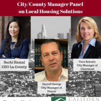 City/County Manager Panel on Local Housing Solutions
