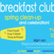 End of Year Breakfast Club Spring Clean-Up & Celebration