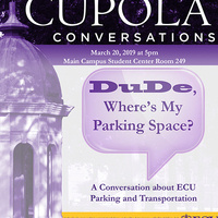 Cupola Conversations - Dude, Where's My Parking Space?