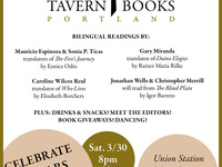 Tavern Books 10th Anniversary Party & Translators' Reading