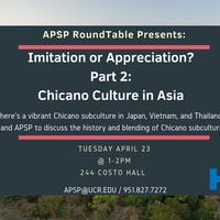 RoundTable Presents: Chicano Culture in Asia