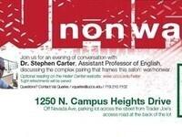 Heller Salon with Professor Stephen Carter (English)