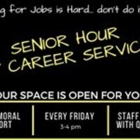 Senior Hour at Career Services