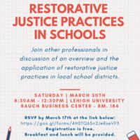 Restorative Justice Practices in Schools | Education