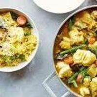 C-Cubed Luncheon - Southern Indian Fish or Tofu Curry