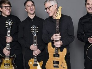Music on the Edge: Instruments of Happiness Guitar Quartet