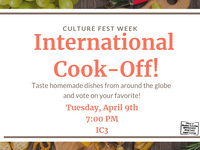 Culture Fest Week: International Cook-Off