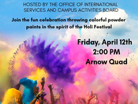 Culture Fest Week: Festival of Colors