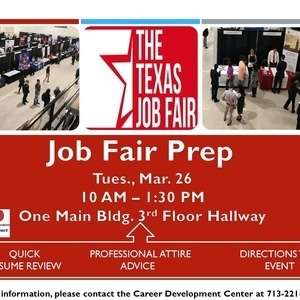 Job Fair Prep: Texas Job Fair