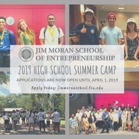 Jim Moran School 2019 High School Summer Camp