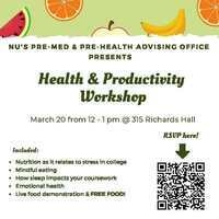 Health and Productivity Workshop