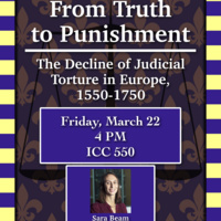 From Truth to Punishment: The Decline of Judicial Torture in Europe, 1550-1750