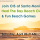 Earth Month Beach Cleanup & Games with OIS