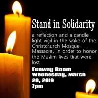 Candlelight Vigil for New Zealand Massacre