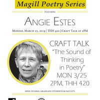 Magill Poetry Series featuring Angie Estes: Craft Talk