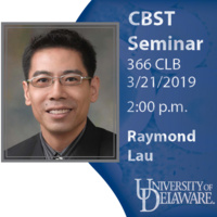 CBST Seminar - Raymond Lau, Nanyang Technological University, Singapore