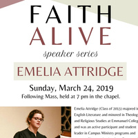 Faith Alive: Speaker Series