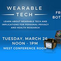 Lunch & Learn:  Wearable Tech