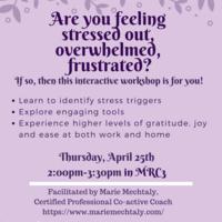 Wellness:  Stress Workshop