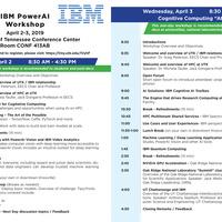 IBM PowerAI Workshop, April 2-3