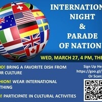 International Night & Parade of Nations