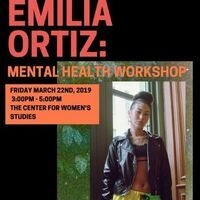 SORT Mental Health Workshop with Emilia Ortiz
