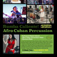 10-Week Afro-Cuban Percussion Class