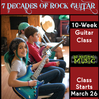 Seven Decades of Rock Guitar - 10 Week Class