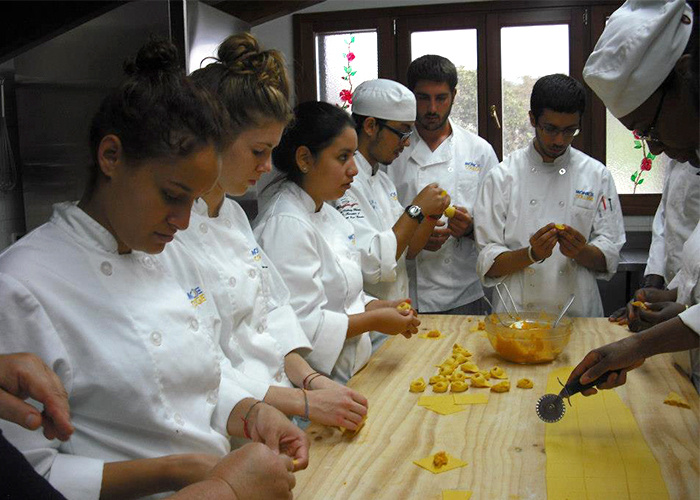 Guest Chef Demo with Chef Felice of the Marco Polo Institute