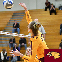 UMN Crookston Women's Volleyball at  Minnesota State University Moorhead