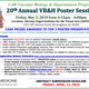 Call for Abstracts 20th Annual Poster Session