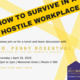 How to Survive in a Hostile Workplace