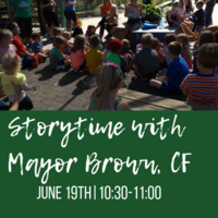 Storytime with Mayor Brown