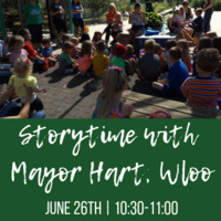 Storytime with Mayor Hart, Waterloo