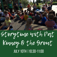 Storytime with Pat Kinney & the Grout Museum