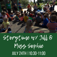 Storytime with Jill & Miss Sophie